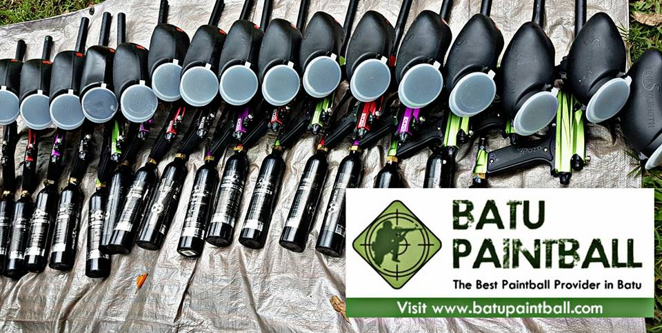 batu paintball equipment