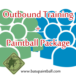 Paket Paintball Enterprise: Outbound Training + Paintball