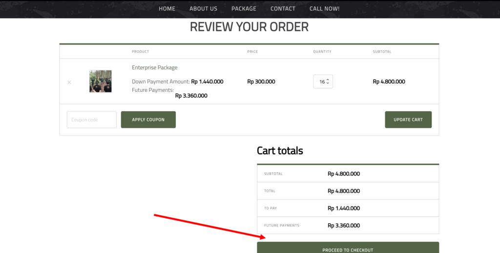 4-Review pesanan anda